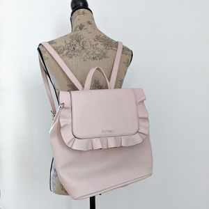 """Nine West Pink """"Heavenleigh"""" Backpack Faux Leather"""